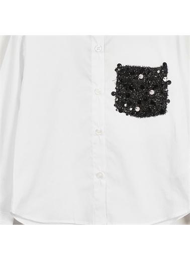 Panço Gömlek 19222059100 Beyaz